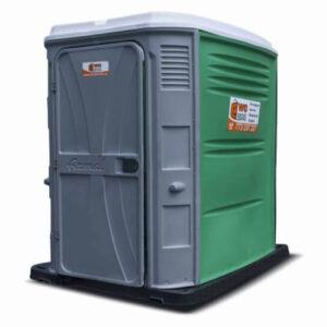 Mobilní toaleta s přebalovacím pultem